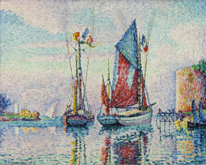 Paul Signac, Tonijnvissers, 1925
