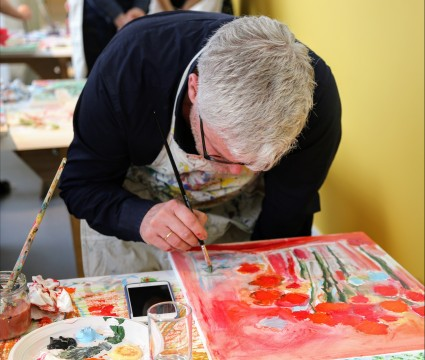 Painting workshops for adults