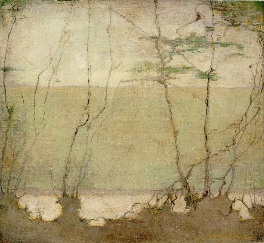 Jan Mankes, Nevellandschap, 1915
